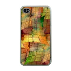 Indian Summer Funny Check Apple Iphone 4 Case (clear)