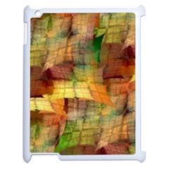 Indian Summer Funny Check Apple Ipad 2 Case (white) by designworld65