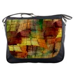 Indian Summer Funny Check Messenger Bags