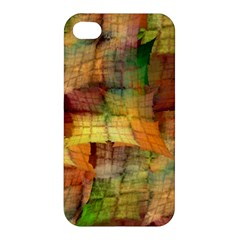 Indian Summer Funny Check Apple Iphone 4/4s Premium Hardshell Case by designworld65