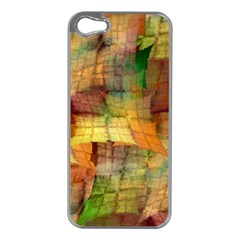 Indian Summer Funny Check Apple Iphone 5 Case (silver) by designworld65
