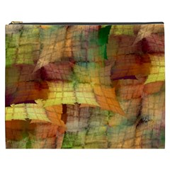 Indian Summer Funny Check Cosmetic Bag (xxxl)  by designworld65
