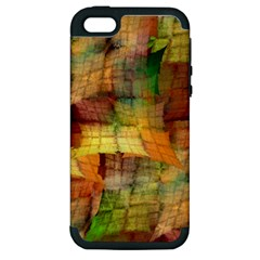 Indian Summer Funny Check Apple Iphone 5 Hardshell Case (pc+silicone) by designworld65