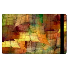 Indian Summer Funny Check Apple Ipad 3/4 Flip Case by designworld65
