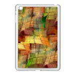 Indian Summer Funny Check Apple iPad Mini Case (White) Front