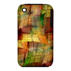 Indian Summer Funny Check Apple Iphone 3g/3gs Hardshell Case (pc+silicone) by designworld65