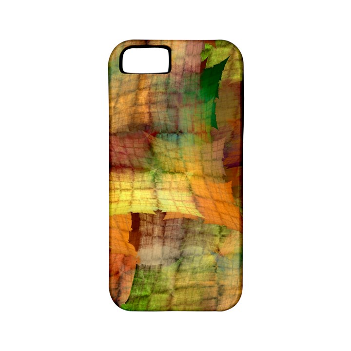 Indian Summer Funny Check Apple iPhone 5 Classic Hardshell Case (PC+Silicone)