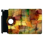 Indian Summer Funny Check Apple iPad 2 Flip 360 Case Front