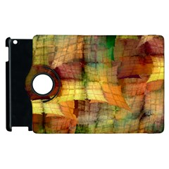 Indian Summer Funny Check Apple Ipad 3/4 Flip 360 Case by designworld65