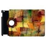 Indian Summer Funny Check Apple iPad 3/4 Flip 360 Case