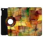 Indian Summer Funny Check Apple iPad Mini Flip 360 Case