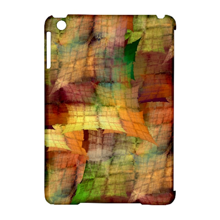 Indian Summer Funny Check Apple iPad Mini Hardshell Case (Compatible with Smart Cover)