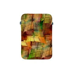 Indian Summer Funny Check Apple Ipad Mini Protective Soft Cases by designworld65