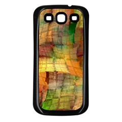 Indian Summer Funny Check Samsung Galaxy S3 Back Case (black) by designworld65
