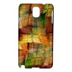 Indian Summer Funny Check Samsung Galaxy Note 3 N9005 Hardshell Case by designworld65