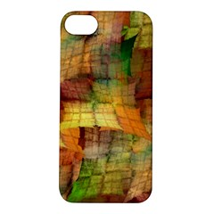 Indian Summer Funny Check Apple Iphone 5s/ Se Hardshell Case by designworld65