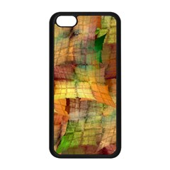 Indian Summer Funny Check Apple Iphone 5c Seamless Case (black) by designworld65