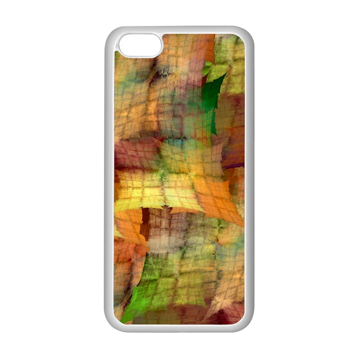 Indian Summer Funny Check Apple iPhone 5C Seamless Case (White)