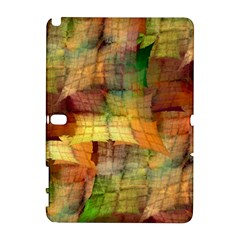 Indian Summer Funny Check Samsung Galaxy Note 10 1 (p600) Hardshell Case by designworld65
