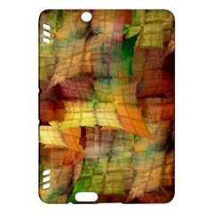 Indian Summer Funny Check Kindle Fire Hdx Hardshell Case by designworld65