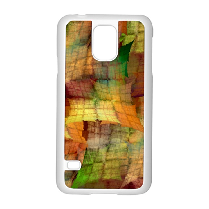 Indian Summer Funny Check Samsung Galaxy S5 Case (White)
