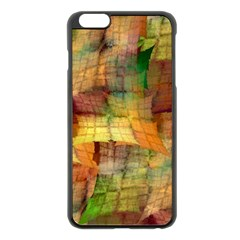 Indian Summer Funny Check Apple Iphone 6 Plus/6s Plus Black Enamel Case by designworld65