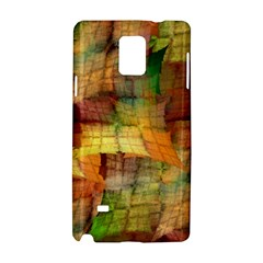 Indian Summer Funny Check Samsung Galaxy Note 4 Hardshell Case by designworld65