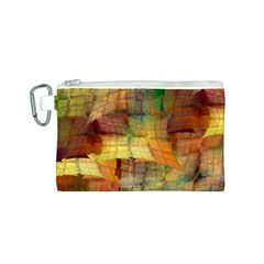 Indian Summer Funny Check Canvas Cosmetic Bag (s) by designworld65