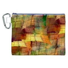 Indian Summer Funny Check Canvas Cosmetic Bag (xxl) by designworld65