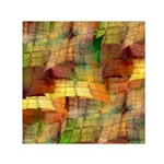Indian Summer Funny Check Small Satin Scarf (Square)