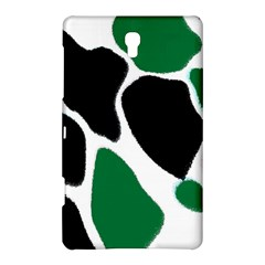 Green Black Digital Pattern Art Samsung Galaxy Tab S (8.4 ) Hardshell Case  by Zeze