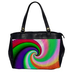 Colorful Spiral Dragon Scales   Office Handbags by designworld65