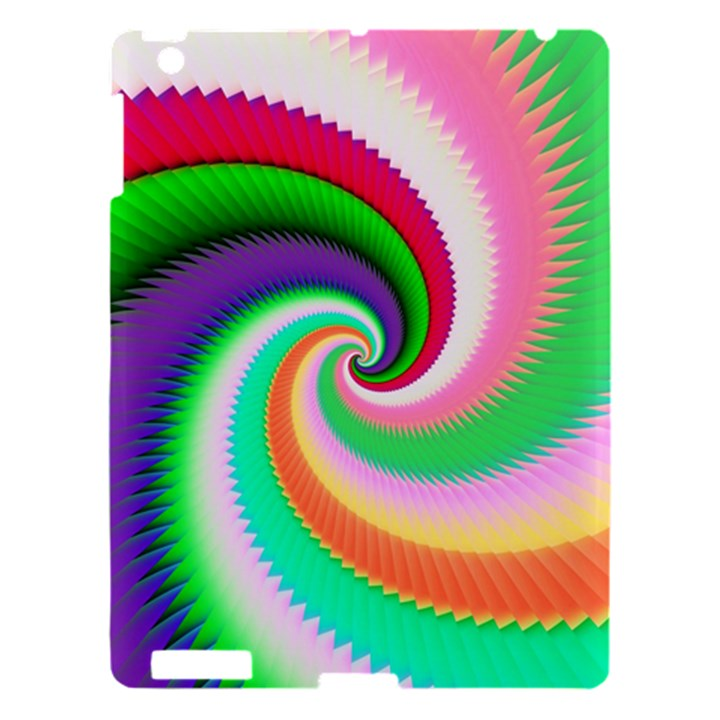 Colorful Spiral Dragon Scales   Apple iPad 3/4 Hardshell Case