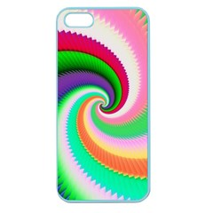 Colorful Spiral Dragon Scales   Apple Seamless Iphone 5 Case (color) by designworld65