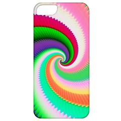 Colorful Spiral Dragon Scales   Apple Iphone 5 Classic Hardshell Case by designworld65