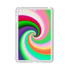 Colorful Spiral Dragon Scales   Ipad Mini 2 Enamel Coated Cases by designworld65