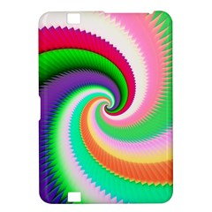 Colorful Spiral Dragon Scales   Kindle Fire Hd 8 9  by designworld65