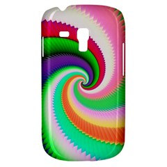 Colorful Spiral Dragon Scales   Samsung Galaxy S3 Mini I8190 Hardshell Case by designworld65