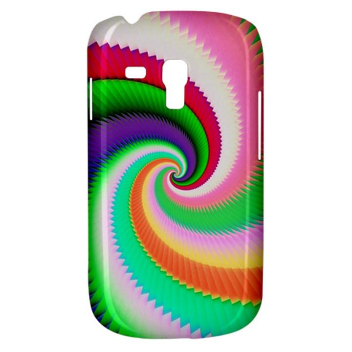 Colorful Spiral Dragon Scales   Samsung Galaxy S3 MINI I8190 Hardshell Case