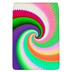 Colorful Spiral Dragon Scales   Flap Covers (L)  Front