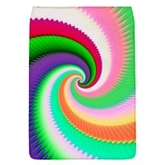 Colorful Spiral Dragon Scales   Flap Covers (s)  by designworld65