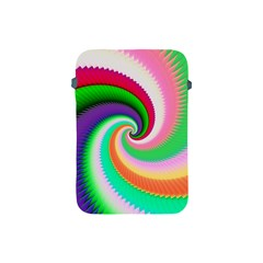 Colorful Spiral Dragon Scales   Apple Ipad Mini Protective Soft Cases by designworld65