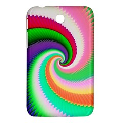 Colorful Spiral Dragon Scales   Samsung Galaxy Tab 3 (7 ) P3200 Hardshell Case  by designworld65