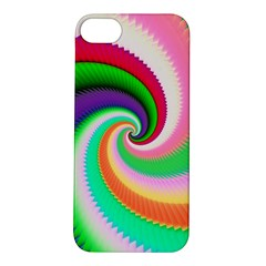 Colorful Spiral Dragon Scales   Apple Iphone 5s/ Se Hardshell Case by designworld65