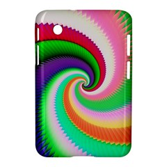 Colorful Spiral Dragon Scales   Samsung Galaxy Tab 2 (7 ) P3100 Hardshell Case  by designworld65