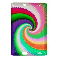 Colorful Spiral Dragon Scales   Amazon Kindle Fire Hd (2013) Hardshell Case by designworld65