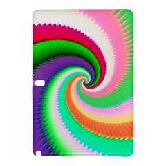 Colorful Spiral Dragon Scales   Samsung Galaxy Tab Pro 10 1 Hardshell Case