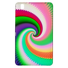 Colorful Spiral Dragon Scales   Samsung Galaxy Tab Pro 8 4 Hardshell Case