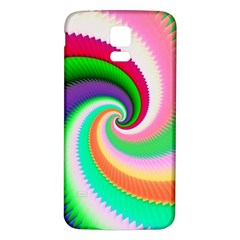 Colorful Spiral Dragon Scales   Samsung Galaxy S5 Back Case (white) by designworld65