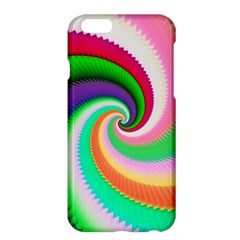 Colorful Spiral Dragon Scales   Apple Iphone 6 Plus/6s Plus Hardshell Case by designworld65